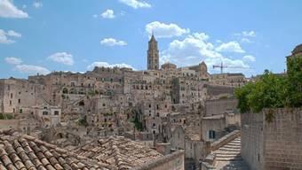 Die Terassenwohnungen Materas stammen aus der Spätantike