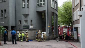Brand in einer Altstadtwohnung von Baden