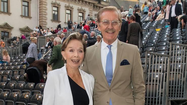 Schauspielerin Monika Peitsch und Sven Hansen Höchstädt haben nach 40 Jahren geheiratet. Vorher war keine Zeit. (Archivbild Juli 2017)