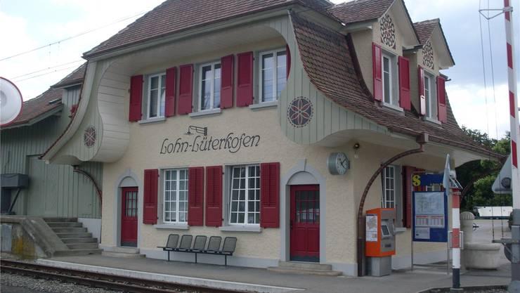 So erstrahlt der renovierte Bahnhof heute mit einer renovierten Ansicht.