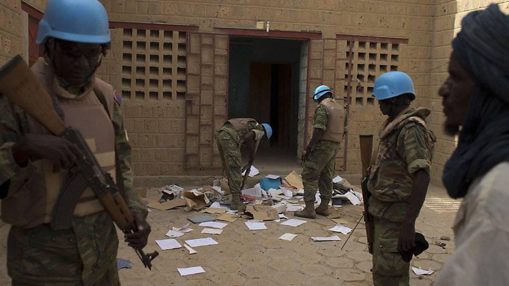 Ins Visier geraten: Fünf Blauhelme bei Angriff in Mali getötet (Symbolbild)