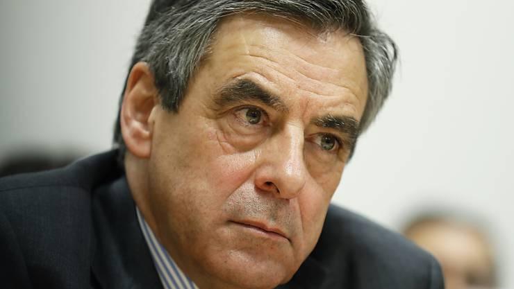 Geht in die Offensive: Der französische Präsidentschaftskandidat François Fillon.