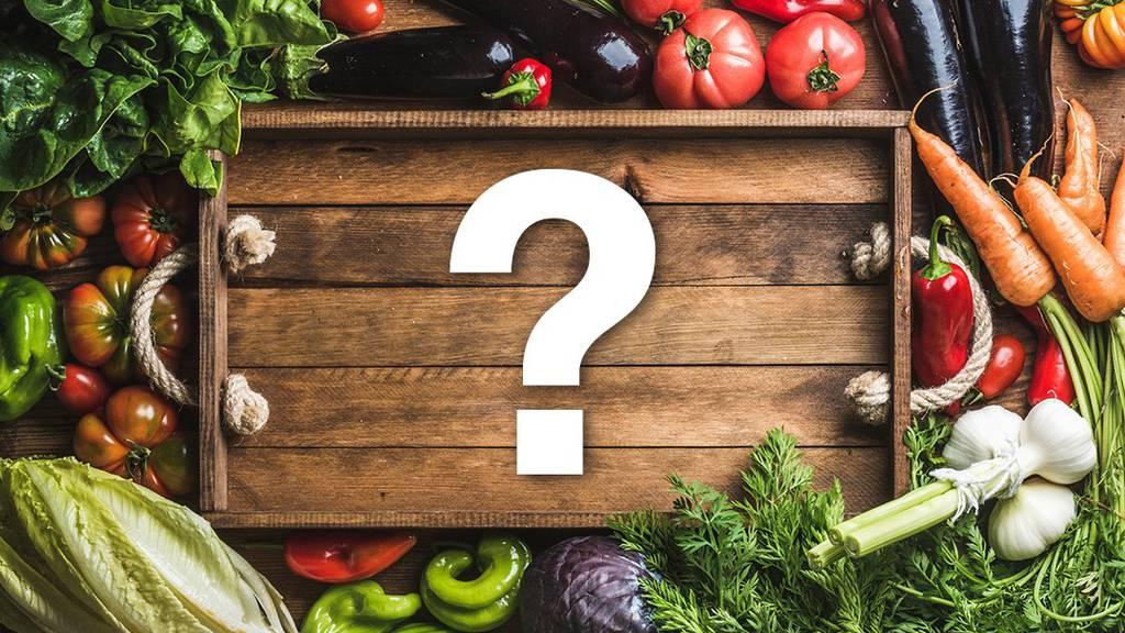 Saisonaler und ökologischer Gemüse-Einkauf ist nicht immer einfach.