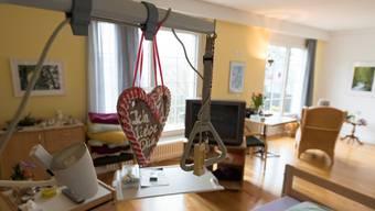 Ein individuell eingerichtetes Zimmer im Brugger Hospiz. (Archivbild)