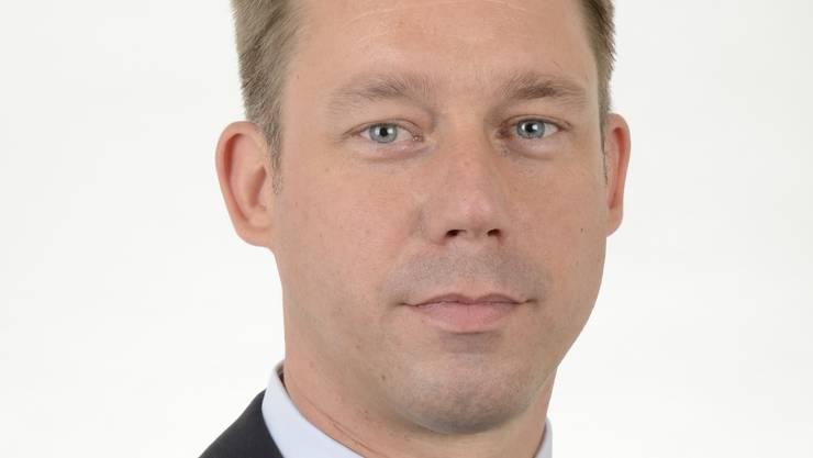 Daniel Strohmeier, neuer Kommandant der Berufsfeuerwehr Basel.