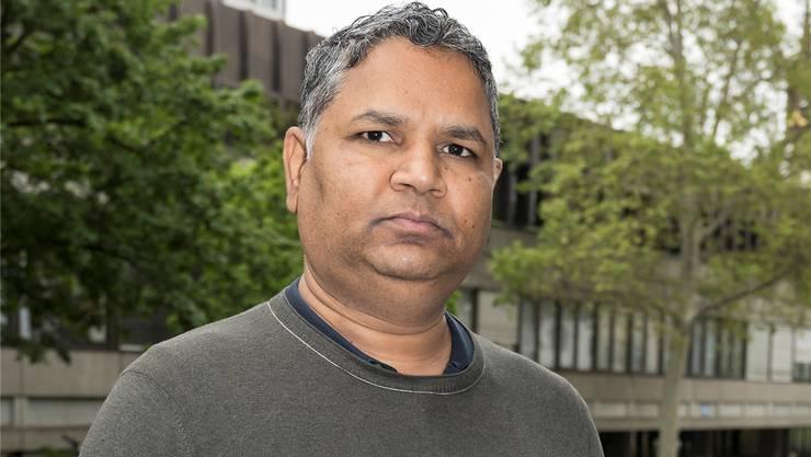 Pradeep Sherkhane in Basel, wo er doktoriert hat.