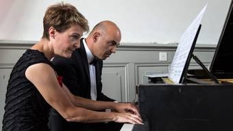 Musikalisch wären sie: Simonetta Sommaruga und Alain Berset.