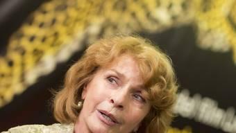 Senta Berger - hier letzten Sommer auf dem Filmfestival Locarno - ist laut Umfrage die beliebteste +50-Deutsche (Archiv),