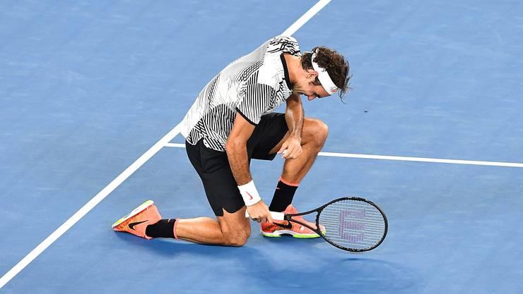 Roger Federer: Gewann sieben Turniere, davon die Australian Open und in Wimbledon. Beendete das Jahr als Nummer zwei der Welt.
