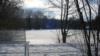 Der gefrorene Marmoriweiher