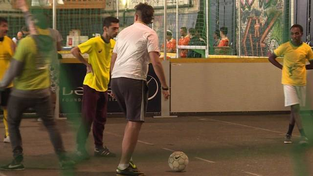 Reitschule & Fussball