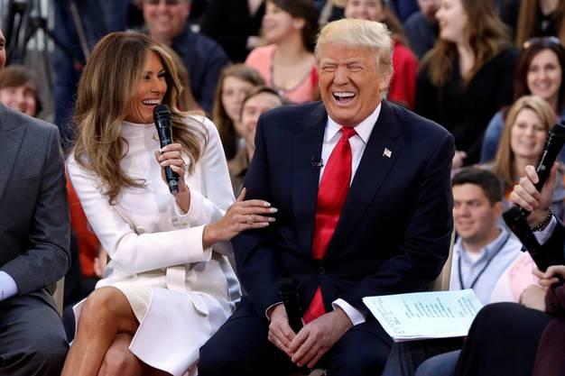 «Wir haben eine grossartige Chemie»: Melania Trump über ihren Ehemann Donald Trump