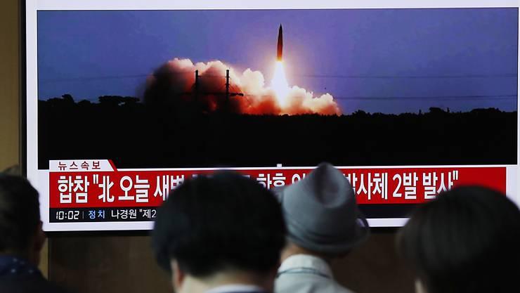"""Nordkorea hat am Sonntag einen """"sehr wichtigen Test"""" von seiner Abschussbasis Sohae aus vermeldet. (Symbolbild)"""