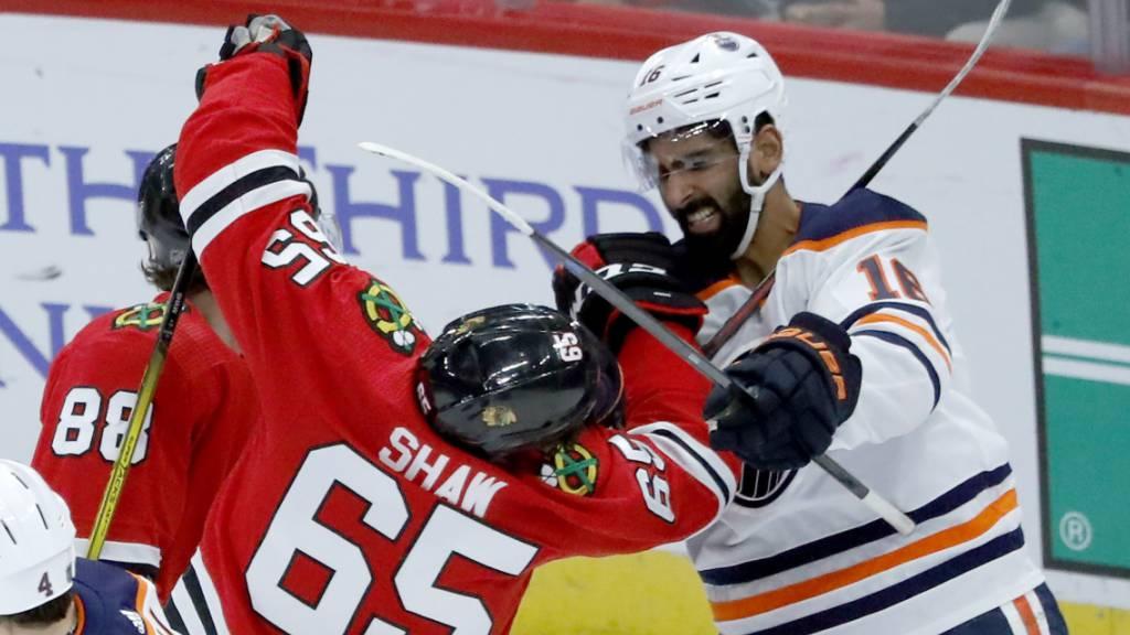 Unbesiegte Oilers unterliegen sieglosen Blackhawks