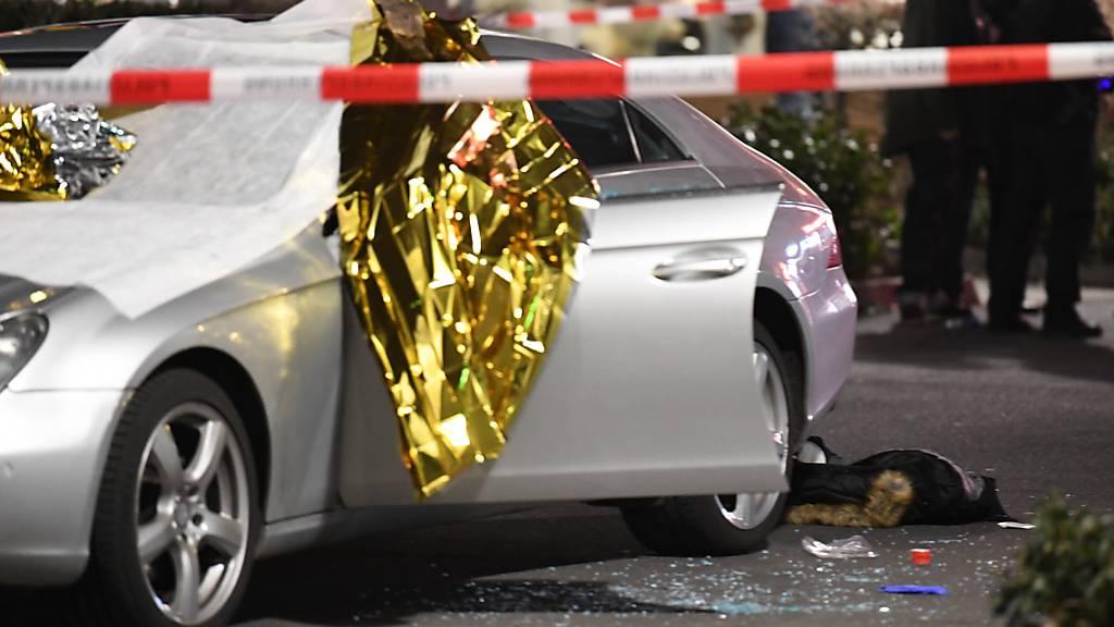 11 Tote nach Gewaltverbrechen in Hanau (D)