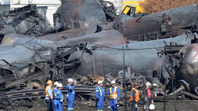 Beim Zugunglück in Québec kamen 47 Menschen ums Leben