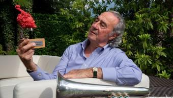 Der Tessiner Trompeter und Flügelhornist Franco Ambrosetti hat am Sonntagabend für sein Lebenswerk in Ascona den Swiss Jazz Award 2018 bekommen. Sein Lebenswerk sei allerdings noch lange nicht vollendet, sagte der 76-Jährige in seiner Dankesrede. (zVg)