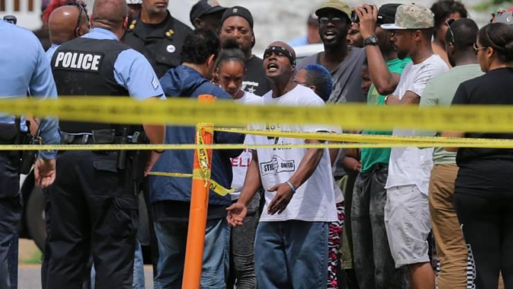 Aufheulen in St. Louis: Erneut wird ein Schwarzer in den USA von Polizisten erschossen