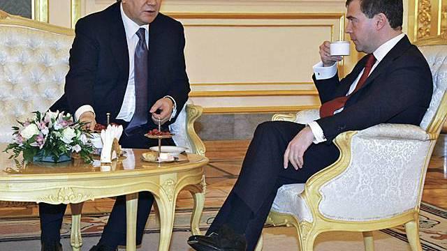 Staatsbesuch zwischen Russland und der Ukraine