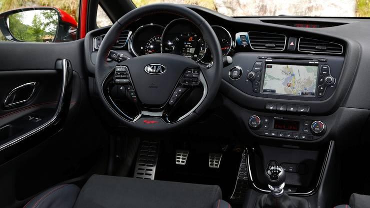 Kia pro_cee'd GT Innenraum