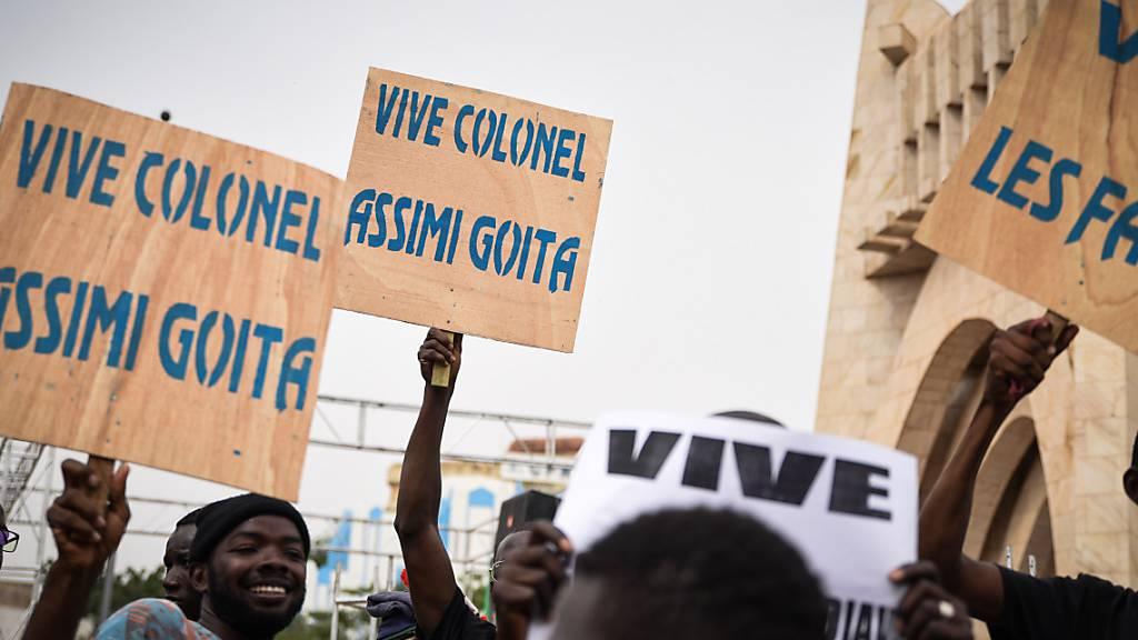 Putschistenführer in Mali übernimmt Präsidentenamt