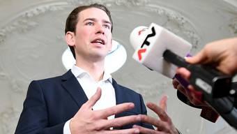 """""""Entschiedenes Vorgehen gegen Neonazis"""": Österreichs Wahlsieger und ÖVP-Chef Sebastian Kurz. (Archivbild)"""