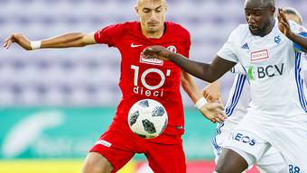 Aldin Turkes (links), hier im Match gegen Lausanne-Sport