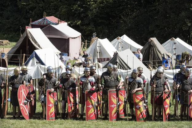 Römerfest in Augusta Raurica.