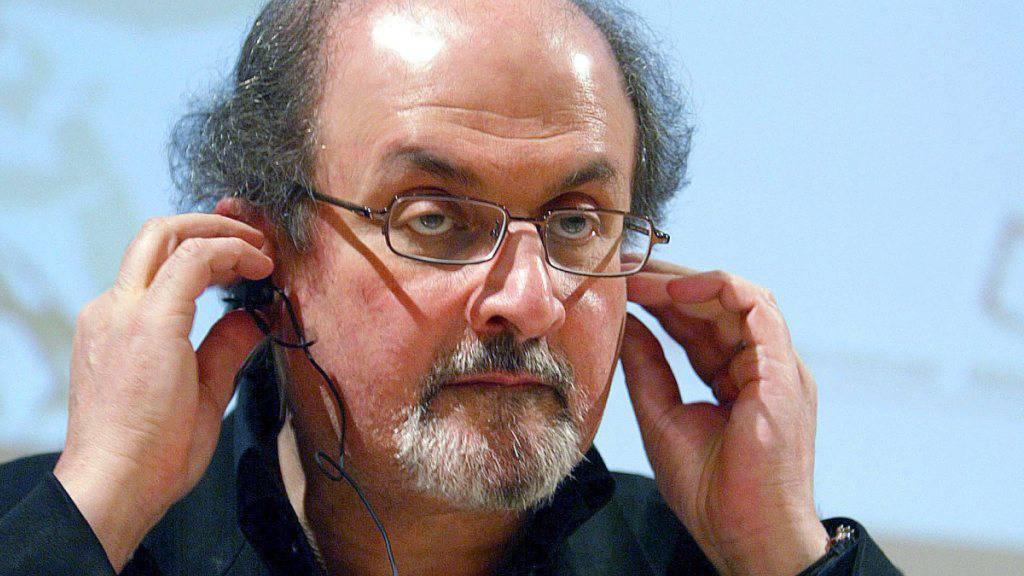 Salman Rushdie bei einem Seminar in Portugal (Archiv).