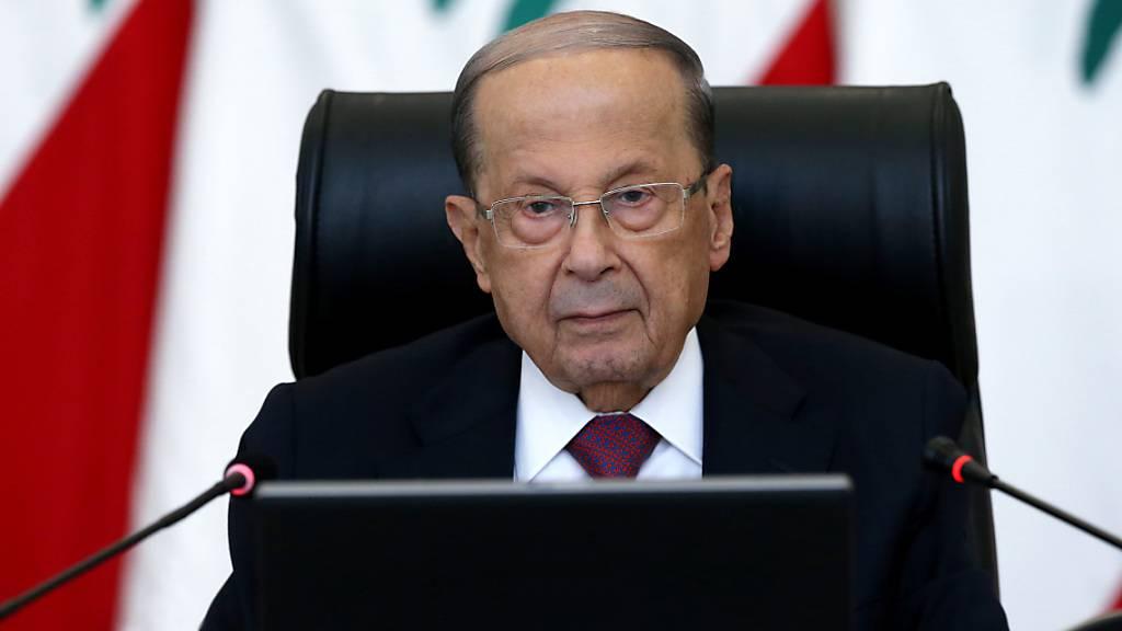 Libanons Präsident warnt vor Unruhen zwischen Religionsgruppen