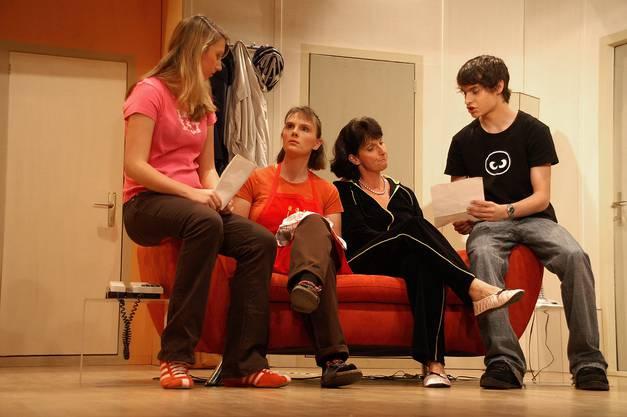 Achtung Internet hiess das Stück, das im Jahr 2006 aufgeführt wurde (Bild Franziska Schaedel)