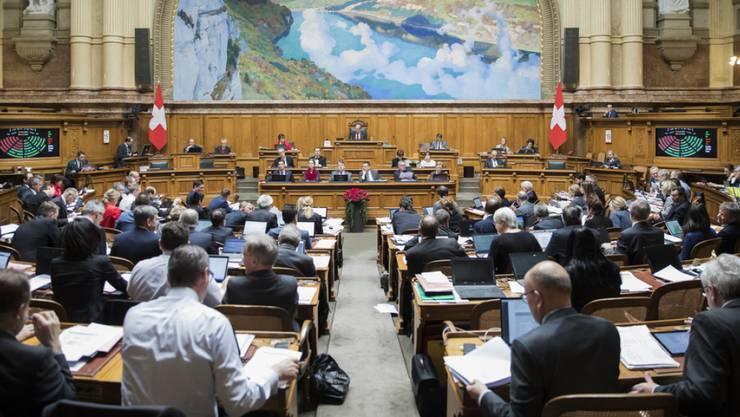 Männerclub Nationalrat: Frauen machen nur einen Drittel der grossen Kammer aus.