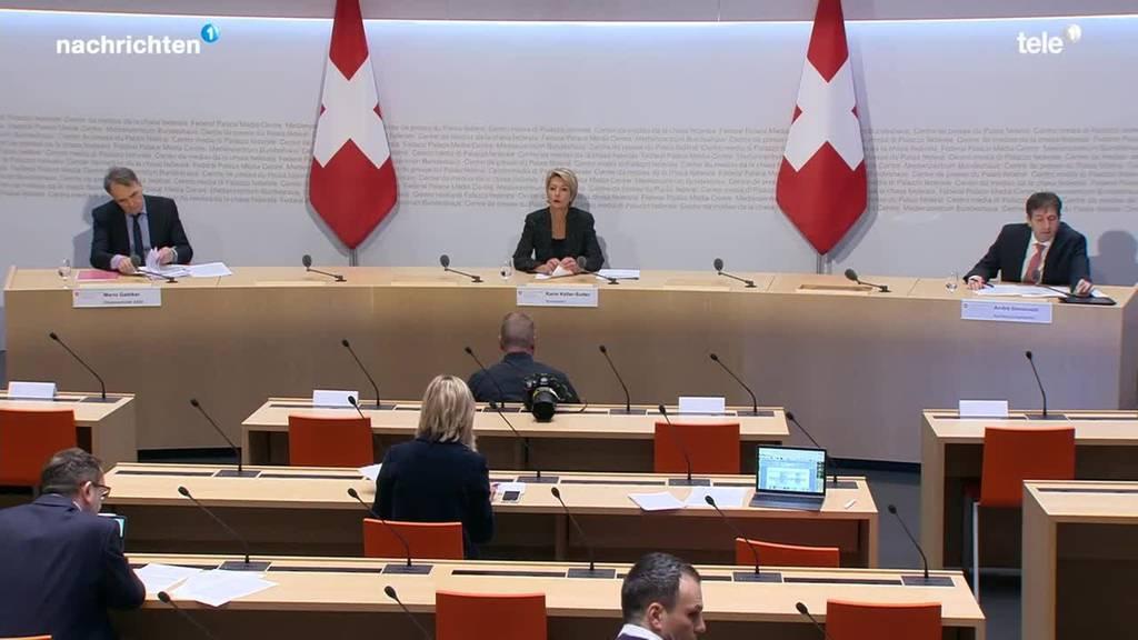 Medienkonferenz des Bundes 14.30 Uhr