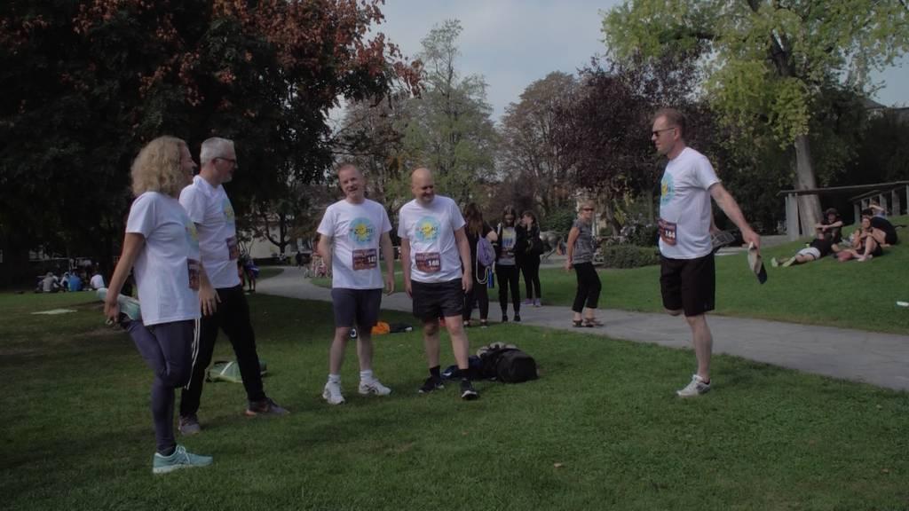 Lauf gegen Rassismus: Züricher Stadtrat mit 5er-Team dabei