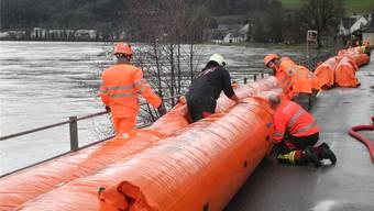 Bei akuter Hochwassergefahr werden in Wallbach Beaverschläuche aufgebaut – das soll sich ändern.