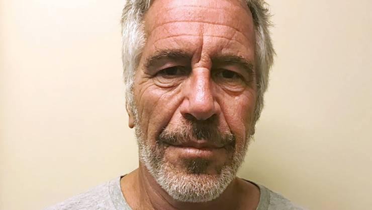 Epstein kurz vor seinem Tod.