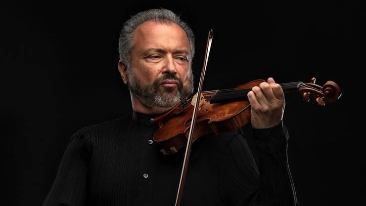 Dmitry Sitkovetsky (Bild) tritt mit Sebastian Bohren auf.
