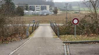Die Verlängerung der Langmattstrasse, heute eine Sackgasse, soll Verkehrsprobleme im Leimental lösen.