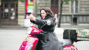 Starker Auftritt in der James-Bond-Parodie «Spy»: Im dritten Kinofilm mit Regisseur Paul Feig steht Melissa McCarthys Name endlich zuoberst im Abspann.