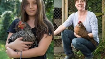 Ein Huhn als Haustier - das gibt es immer häufiger