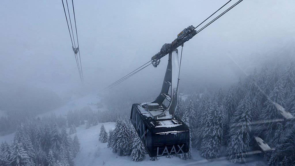 Schlechtes Wetter schlug sich letzten Winter in der Kasse der Laaxer Bergbahnen nieder. Der Verkauf der Tickets lag deutlich unter dem Durchschnitt der letzten fünf Jahre.