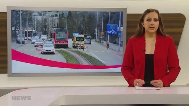 Fussgänger von Aare-Seeland mobil-Bahn erfasst und schwer verletzt