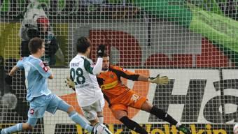 Diego erzielt gegen die Gladbacher die 1:0-Führung