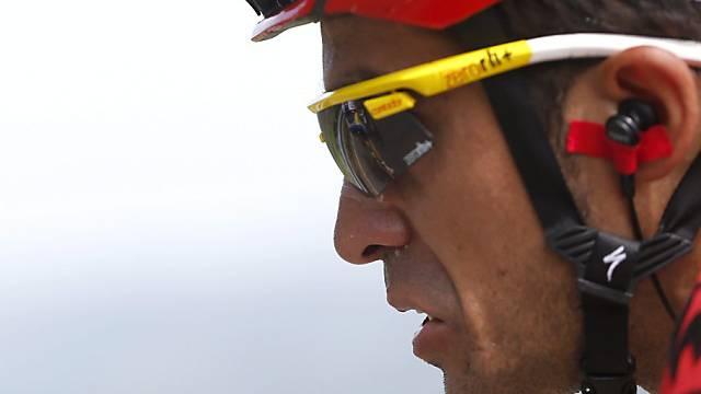 Vuelta-Leader Alberto Contador