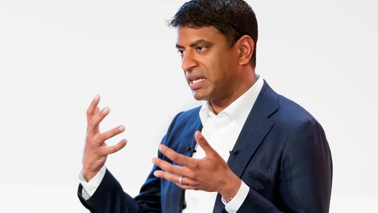 Vasant Narasimhan ist seit Februar 2018 CEO der Novartis.