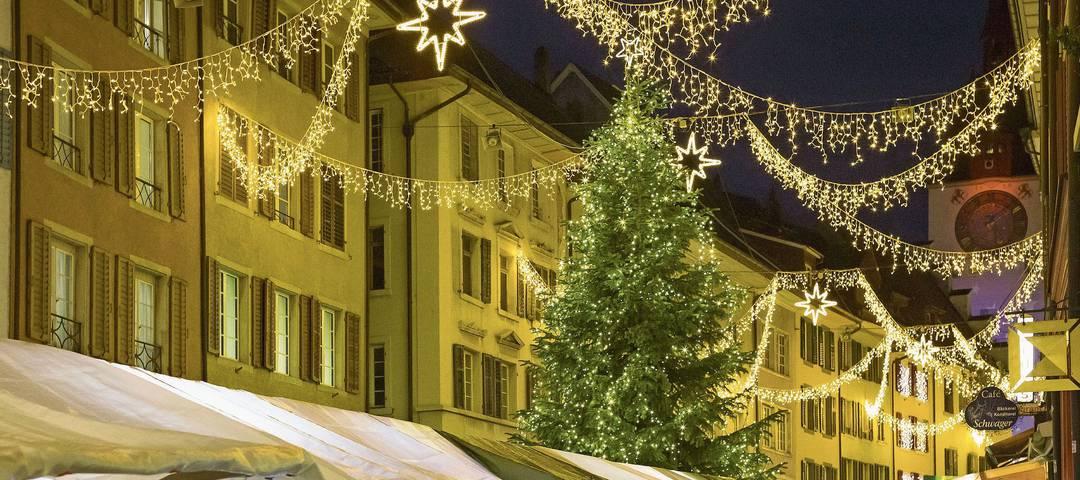 Wegen der Pandemie werden viele Weihnachtsmärkte abgesagt. (Archivbild)