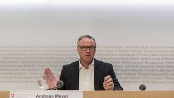 SBB-Chef Andreas Meyer hat am Dienstag seinen letzten Arbeitstag. (Archivbild)