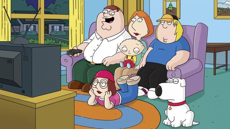 Die Zeichentrickserie «Family Guy» ist ein Download-Hit.