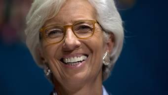 IWF-Chefin Christine Lagarde kann auf breite Unterstützung für ihre Wiederwahl zählen. (Archiv)