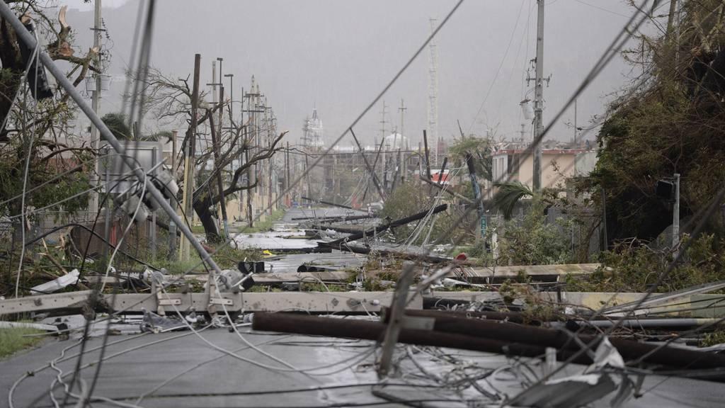 Maria verwüstet Puerto Rico